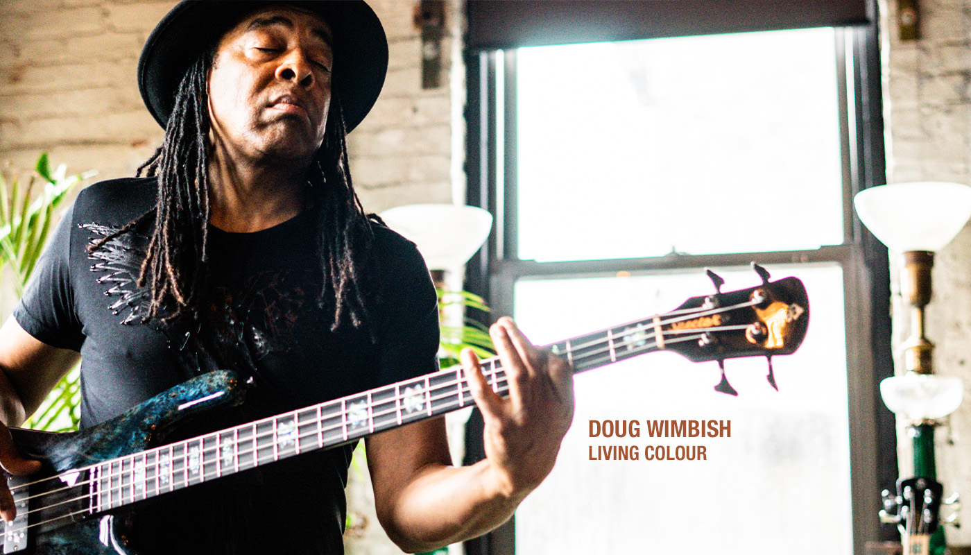 Doug Wimbish of Living Colour playing a Spector bass