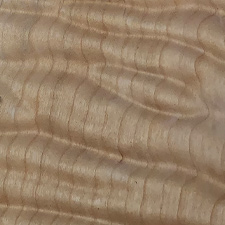 USA series quilted maple swatch