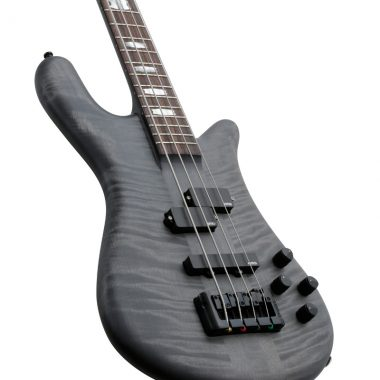 body of black Spector Euro 4LX electric bass