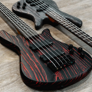 bodies of two Spector basses